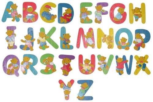 Bieco 23-0009xx - Holzbuchstaben Bär Design