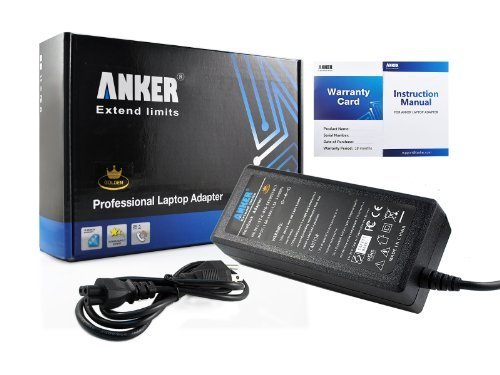 Anker? New AC Adapter/Charger + Power Accumulation Cord for Laptop Sony Vaio Series as PCG-3F3L PCG-5J2L PCG-5K1L PCG-5K2L PCG-6G4L PCG-7113L PCG-7133L PCG-7141L PCG-7142L PCG-7Y2L PCG-7Z2L VGN-BX760 VGN-BZ560 VGN-C290 VGN-CS215J VGN-FE660G VGN-FE770G VGN