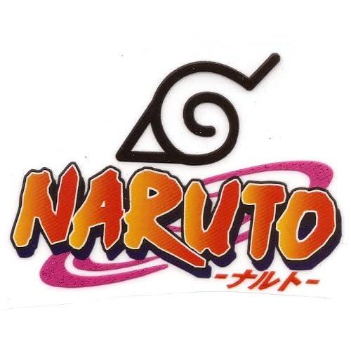 Amazon.com: Naruto Logo Japanese manga Heat Iron On Transfer for T