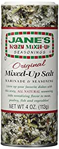 Jane's Krazy Mixed Up Salt -- 4 oz