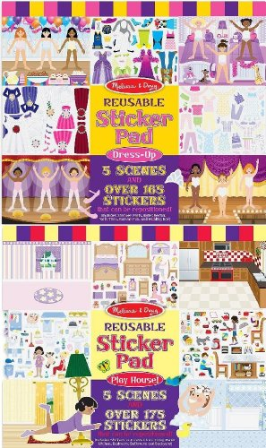 Melissa And Doug Sticker Book front-1043978