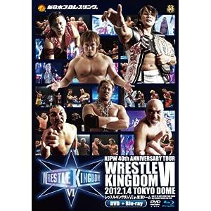 新日本プロレス創立40周年記念大会 レッスルキングダムⅥ in 東京ドーム 【DVD】 + 【劇場版 Blu-ray】BOX