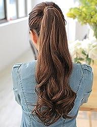 Wrape Around Curly Ponytail Extensions (Dark Brown)