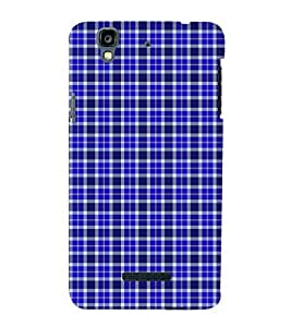 Fuson Premium Back Case Cover Buffalo checks pattern With Multi Background Degined For YU Yureka::Micromax Yureka AO5510