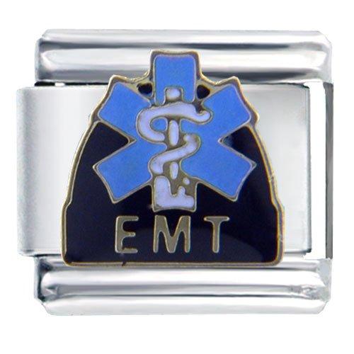 Emt Symbol Italian Charm Bracelet