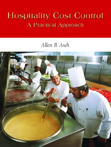 Hospitality Cost Control: A Practical Approach