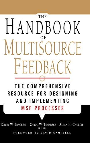 The Handbook of Multisource Feedback PDF
