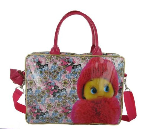 Irregular Choice Pom Pom Laptop Bag