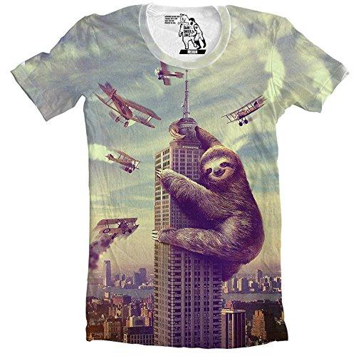 Sharp-Shirter-Slothzilla-Mens-Tee