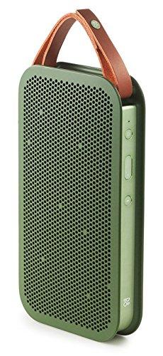 B&O PLAY by Bang&Olufsen BeoPlay A2 portabler Bluetooth Lautsprecher (24h Akku, 15 Watt)  grün