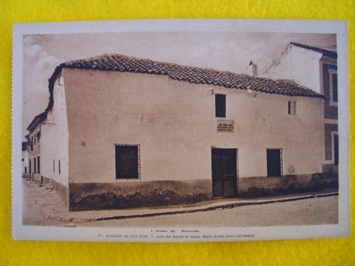 antigua-postal-old-postcard-casa-del-barrio-santa-maria-donde-nacio-cerva