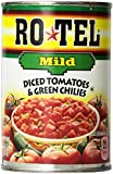 Ro-Tel, Diced Tomatoes, Mild, 10oz Can (Pack of 6)