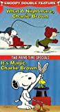 Snoopy Double Feature Vol. 6 (What a Nightmare/Its Magic) [VHS]