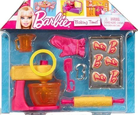 Barbie House Dream Accessories Set - Baking Time by Mattel