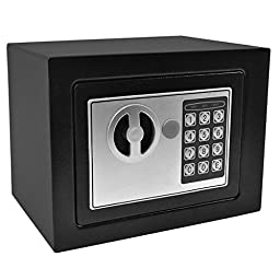 Viment Digital Electronic Security Safe Box for the Office/Home, Black