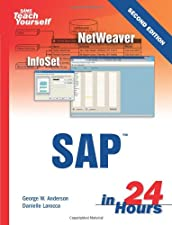Sams Teach Yourself SAP in Hours by George Anderson