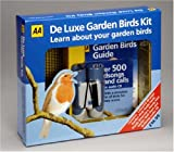 AA Deluxe Garden Birds Kit: AA Garden Bird Guide, Children's Binoculars, Bird Feeder, Wall Chart, Birdsong & Calls CD