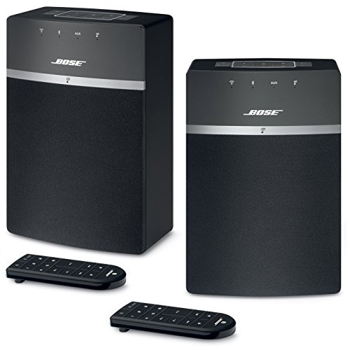 Lowest Price! Bose SoundTouch 10 Wireless Music System Bundle 2-Pack - Black