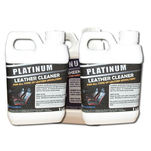 Leather Care Pack - Leather Cleaner - Leather Conditioner - Leather Interior Care