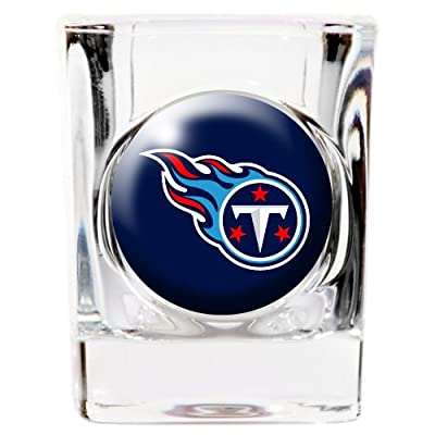 Great American 8900681129 2 oz. Tennessee Titans Square Shot Glass