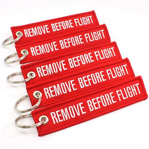 Rotary13B1 - Remove Before Flight Key Chain 5 Pack