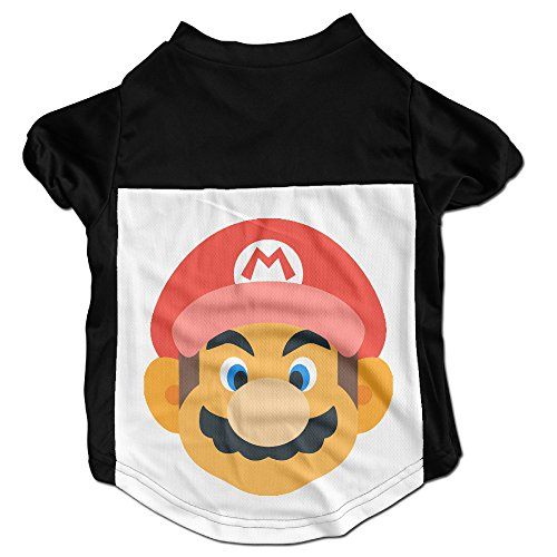 minloo-l-mario-player-pet-shirt-polo-dogs-geek-outfit-size-l-color-black
