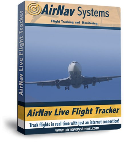Airnav Live Flight Tracker for Aviation Enthusiasts: Software for Tracking Airline Flights to and From Any Airport on Your Home Computer