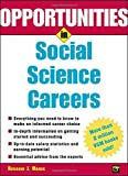 img - for Opportunities in Social Science Careers (Opportunities In...Series) book / textbook / text book