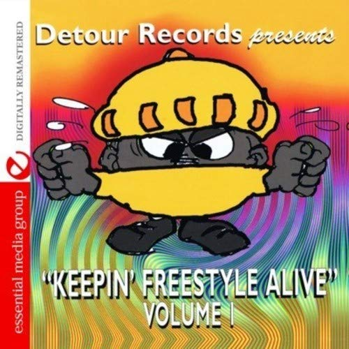 CD : VARIOUS ARTISTS - Keeping Freestyle Alive 1