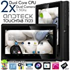 Andteck TouchTab 7X23 Dual Core 4.2.2 Google Android 7 in Tablet PC, 1.5GHz, Wi-Fi, A23 [2014 Model] (Black)