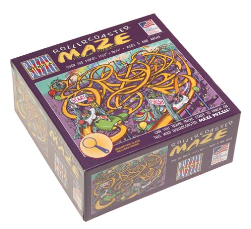 Roller Coaster Jigsaw Puzzle 100pc - 1