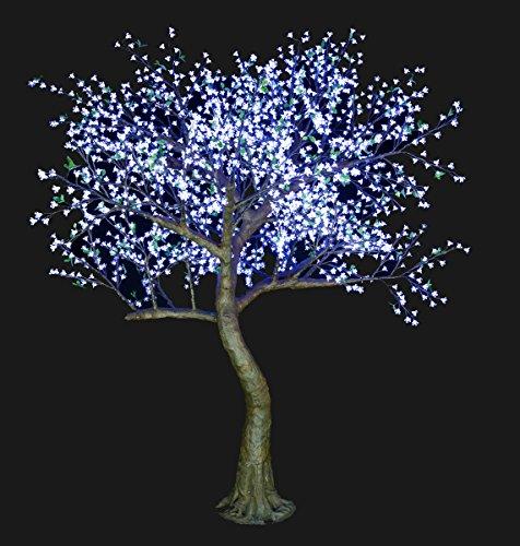 Bright Baum Led Light Cherry Artificial Tree, 9-Feet, Cool White