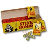 Stink Bombs Box of 36 Glass Vile Vials
