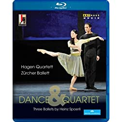 Dance & Quartet: Three Ballets [Blu-ray]