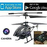 IHelicopter With Camera - iCam Lightspeed Android / iPad / iPhone Controlled i-Helicopter With Camera For Video & Stills