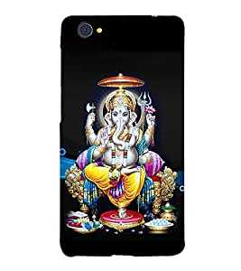 Lord Ganesha 3D Hard Polycarbonate Designer Back Case Cover for VIVO X5 PRO :: VIVO X5PRO