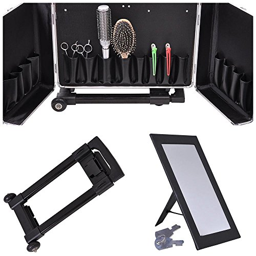 Barber Tool Box : Aw Clipper Trimmer Barber Tool Box Rolling Makeup Hair Salon Stylist ...