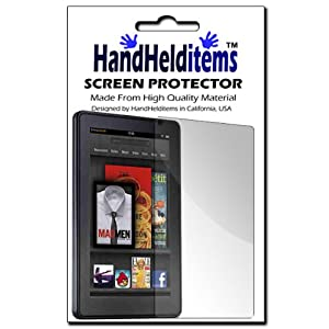 Kindle Fire Screen Protector Anti Fingerprint
