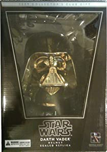Gentle Giant Darth Vader Helmet Scaled Replica Gold Edition