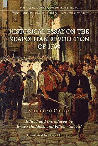 Historical Essay on the Neapolitan Revolution of 1799 (Lorenzo Da Ponte Italian Library)