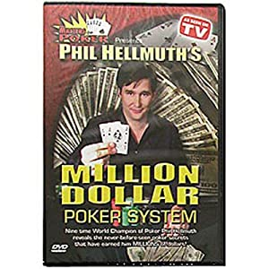 New Trademark DVD Phil Hellmuth's Million Dollar Poker System Popular High Quality Practical