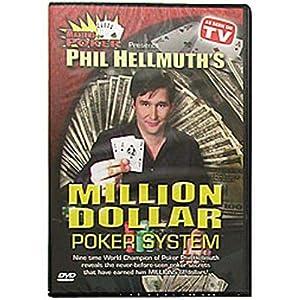 New Trademark DVD Phil Hellmuth's Million Dollar Poker System Popular High Quality Practical