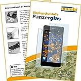2x mumbi Panzerglasfolie Sony Xperia Z2 Glasfolie Hartglas 9H (1 x VORNE und 1 x RÜCK Folie)