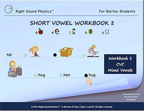 Short Vowel Workbook 2 - Right Sound PhonicsTM