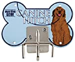 Guardian Gear Canine Hitches - Unique and Practical Metal Dog Leash Hitches, Blue Retriever from Guardian Gear