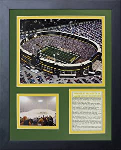 Legends Never Die Green Bay Packers Old Lambeau Field Framed Photo Collage,... by Legends Never Die