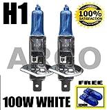 H1 100W XENON SUPER WHITE 448 HID HEADLIGHT BULBS BMW R 1150 GS ABS