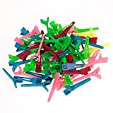 Imported 50Pcs Mixed Mini Hairdressing Salon Hair Clips Hair Salon Sectioning Clips