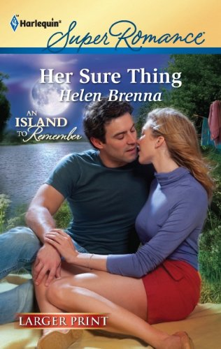 Her Sure Thing (Harlequin Super Romance (Larger Print)) [Large Print]
