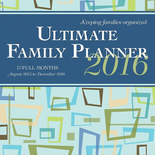 Ultimate Family Planner 2016 Square 12x12 Wyman (17 Months with Pocket)